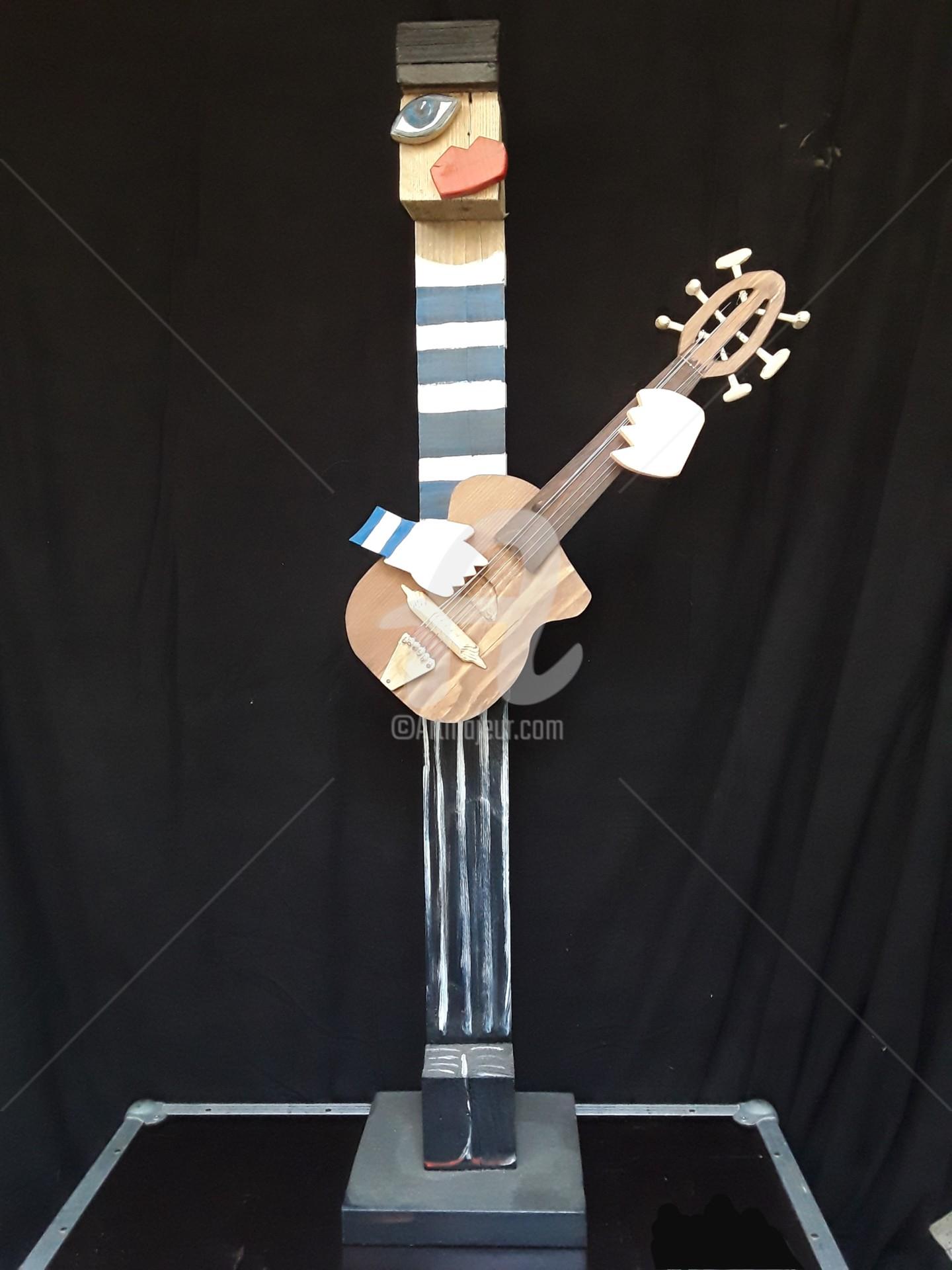 Caroline Cavalier - Jano à la guitare
