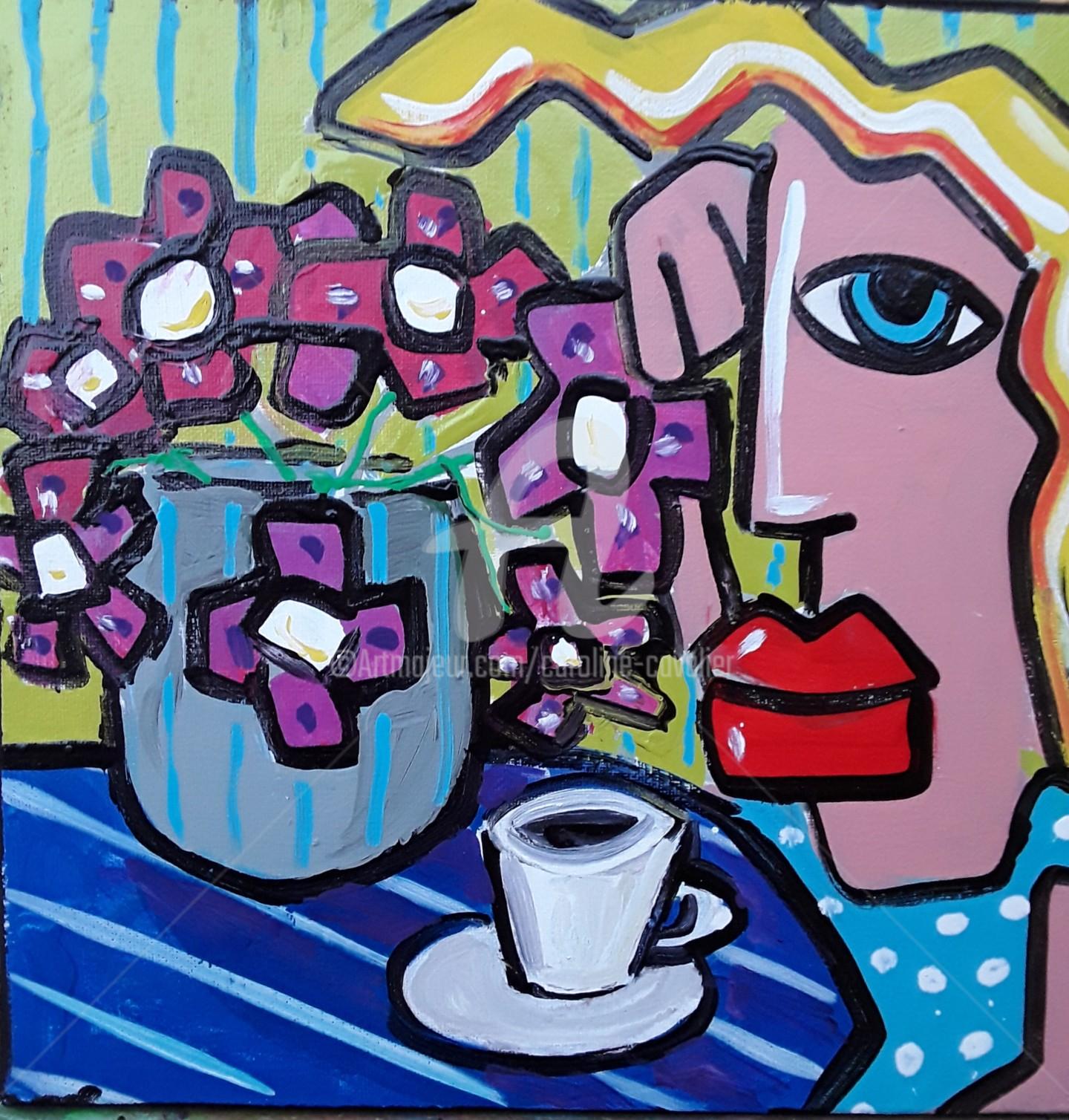 Caroline Cavalier - Pause café