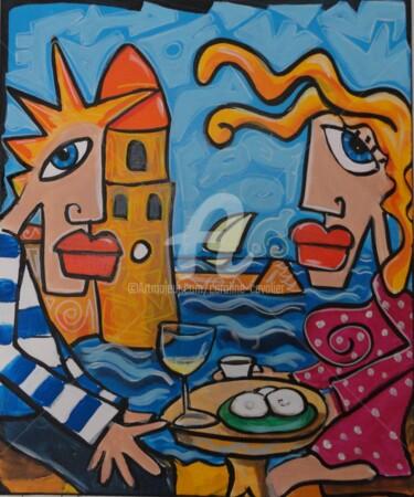 Pause café a Collioure